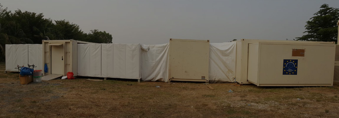 Mobile Clinic for EUTM (EU Training Mission) in Mali